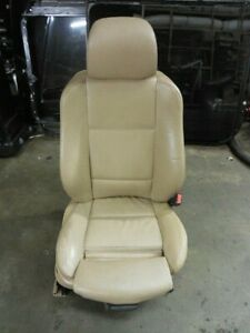 04 06 Bmw X5 E53 Front Right Passenger Sport Seat Beige Leather Assembly 7111882