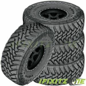 4 Toyo Open Country M t 35x1250r18 123q E 10 Off road All Season Mud Tires