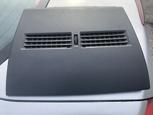 2007 2012 Nissan Versa Upper Center Dash A c Vent Bezel Trim Panel Black Oem