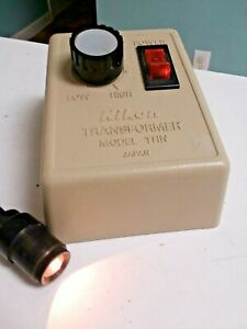 Nikon Thn Microscope Light Source Transformer 120v W Illuminator