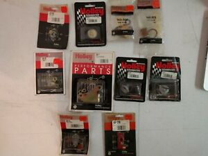 Misc Holley Parts fuel Filter Lever Extension Power Valve Plud Etc
