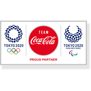 New 2020 Tokyo Olympics Limited Coca Cola pin Badge Sports Accessories Japan