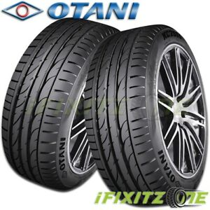 2 Otani Kc2000 285 30r19 98y Tires High Performance 320aa New Passenger