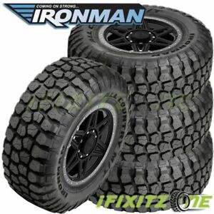 4 Ironman All Country M t Lt315 70r17 E 121 118q 4wd Truck All season Mud Tires