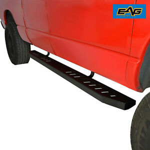 Eag Raptor Style Running Boards And Brackets Fit 15 17 Ford F 150 Super Cab