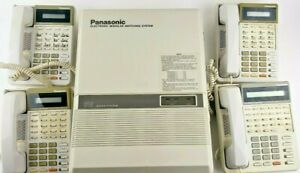 Panasonic Office System 616 Easa Phone Kx t61610 Modular Switching System Set
