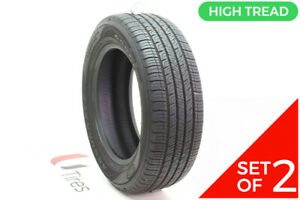 Set Of 2 Used 215 60r16 Goodyear Assurance Comfortred Touring 94v 8 5 9 32