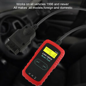 Vc300 Auto Code Reader Eobd Obd2 Scanner Check Engine Fault Diagnostic Tool Us