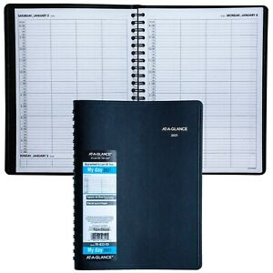2021 At a glance 70 822 4 person Daily Appointment Book 8 X 10 7 8