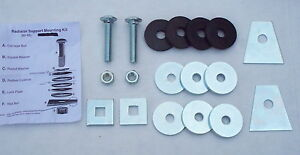 60 61 62 63 64 65 66 67 68 Chevy Gmc Pickup Truck Radiator Support Mounting Kit