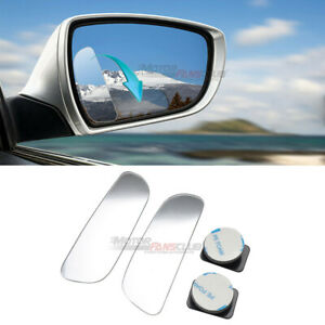 2pcs Auto Blind Spot Mirror 360 Wide Angle Convex Rear Side View Car Truck Suv