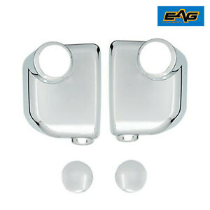 Eag Fits 07 14 Toyota Fj Cruiser Triple Chrome Plated Abs Mirror Cover