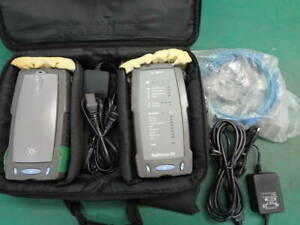 Agilent Wirescope350 Dualremote350 Cable Analyzer Tested Working Good F s
