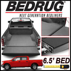 Bedrug Impact Liner Truck Bed Mat For 2015 2019 Ford F 150 With 6 5 Bed