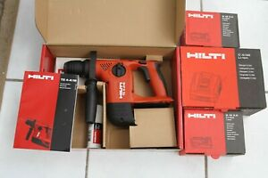 Hilti Te4 a18 18 volt Cordless Rotary Hammer Drill New W 2 Batteries charger