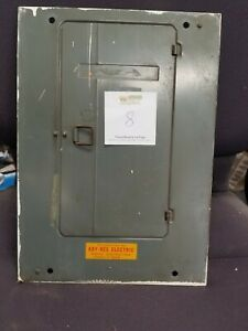 125 Amp Federal Pacific Stab lok Breaker Panel Cover Cat 1306 12ni Split Buss