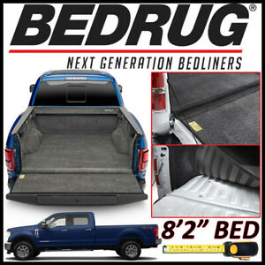 Bedrug Custom Fit Truck Bed Liner Mat 2017 2019 F 250 F 350 With 8 Ft 2 In Bed