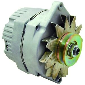 New Alternator Replaces Delco 10si Ir Ef 3 Wire System 63 Amp V Drive Pulley