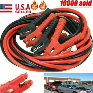 1 Gauge Booster Cables 20ft 1200amp Power Start Jumper Heavy Duty Car Van New Us