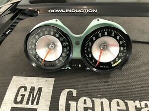1963 Chevrolet Corvette Speedometer Tach Cluster Dash Gm