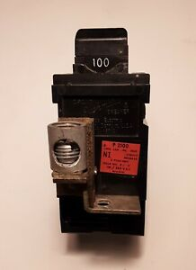 Pushmatic 100 Amp 2 Pole Main Circuit Breaker