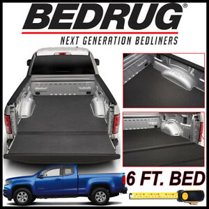 Bedrug Bedtred Impact Bed Liner Mat Fit 2015 2020 Chevy Colorado With 6 Ft Bed