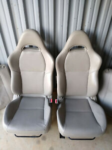 Acura Rsx Front Seats Leather Oem Driver Passenger Civic Integra Great Condition