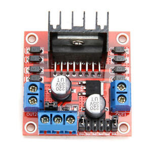 10 Pcs Geekcreit L298n Dual H Bridge Stepper Motor Driver Board For Arduino Bg