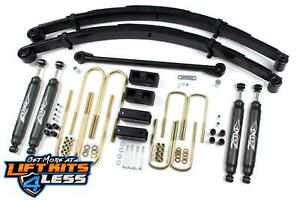 Zone Offroad F3 6 Suspension Lift Kit 2000 2005 Ford Excursion 4wd
