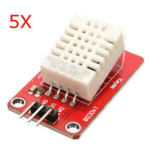 5pcs Am2302 Dht22 Temperature And Humidity Sensor Module For Arduino Scm Bg