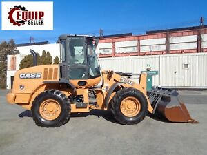 2013 Case 521e Wheel Loader 4x4 Diesel Only 762 Hours Excellent Condition