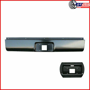 Unpainted Rear Bumper Steel Roll Pan For Silverado Sierra 1999 2006 Fleetside
