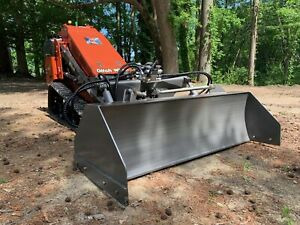Laser Grading Box Best Leveling Automated Attachment Skid Steer Grader 2d Level