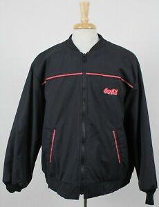 Vintage Coca-Cola Riverside Made In USA Employee Work Insulated Jacket 2XL