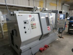 Haas Cnc Lathe Model Sl 20t Date Of Mfg 2008 Used Local Pickup Only