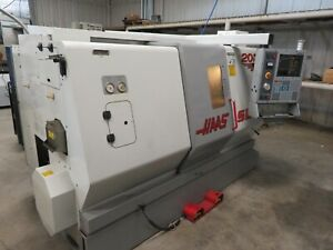 Haas Sl20t Cnc Lathe Rigid Tapping Tailstock Chip Auger