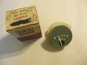 1951 Ford Fuel Dash Gauge Nos 1a 9280b White Needle