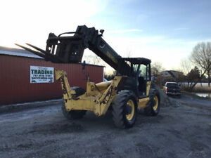 2003 New Holland Lm860 4x4 8800lb 40ft Telescopic Forklift Outriggers 1500 Hrs