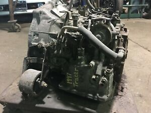 1997 Mercury Tracer 1997 Ford Escort Automatic Transmission