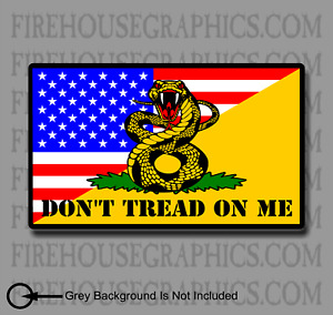 American Flag Don T Tread On Me We The People Liberty 1776 Gadsden Vinyl Decal