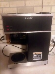 Bunn Vpr Series 12 cup Commercial Pourover Coffee Maker Fully Tested No Carafes