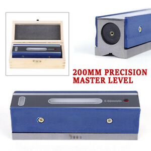 8 Master Precision Level In Fitted Wooden Box For Machinist Tool 0 0002 10