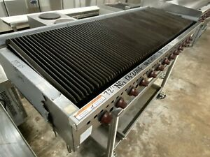 Wolf Range Scb72cn 1 72 Natural Gas Radiant Charbroiler