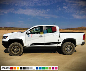 Decal Sticker Lower Stripe Kit For Chevrolet Colorado Coil Fuel Cap Tank Cover