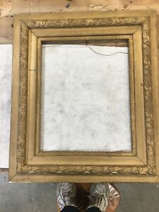 Antique Ornate Gold Gilt Gesso Wood Victorian Picture Frame 16x20