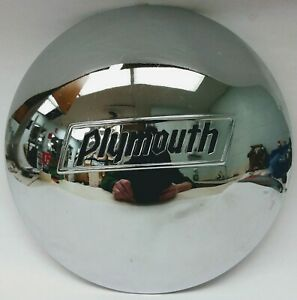 1937 1938 Plymouth Hubcap