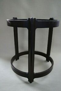 Dunbar Edward Wormley Side Table Bentwood Smoked Glass Top Mid Century