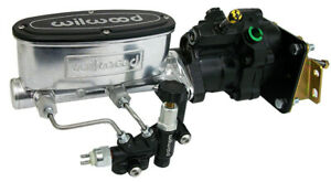 Polished 1967 69 Chevy Camaro Wilwood Hydro boost Power Brake Booster Kit