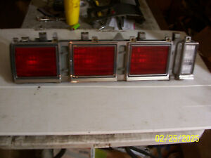 1980 1981 1982 1983 1984 Caprice Left Taillight Brake Reverse Turn Used Oem