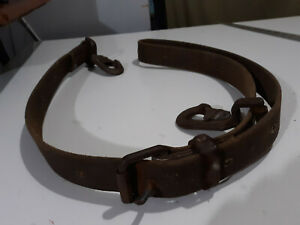 Vtg 1982 Klein Tools 5295 6 Lineman Utility Pole Climbing Safety Belt Harness